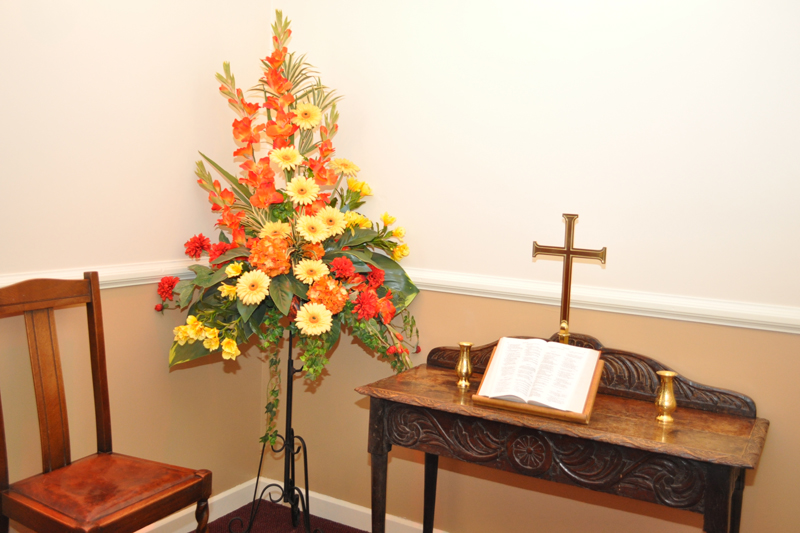 Private Chapel of Rest's at each of our locations